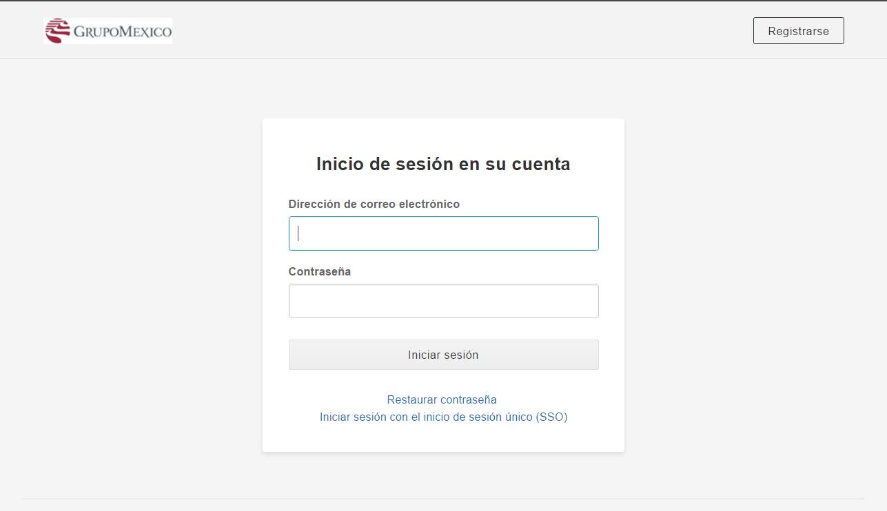 box cloud Inicio de sesion personalizado grupo mexico