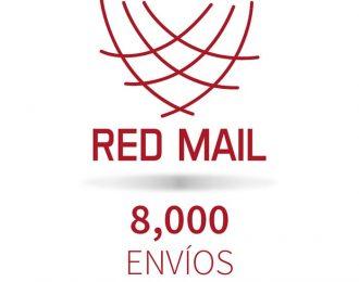 Red Mail 8,000 envíos
