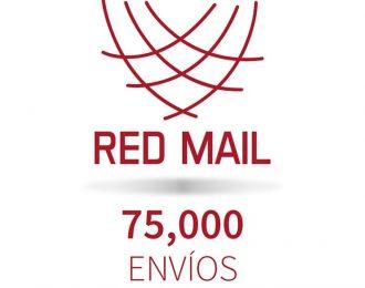 Red Mail 75,000 envíos