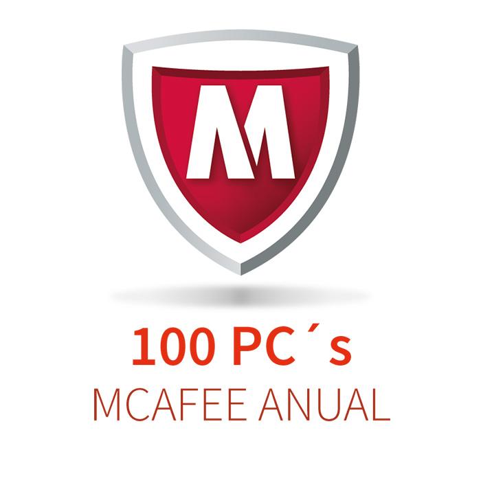 MCAFEE 5 (100 PCs) ANUAL
