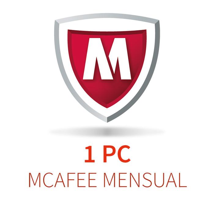 MCAFEE 5 (1 PC) MENSUAL