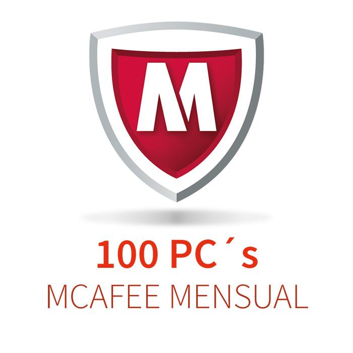 MCAFEE 5 (100 PCs) MENSUAL