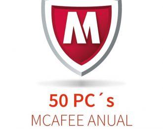 MCAFEE 5 (50 PCs) ANUAL
