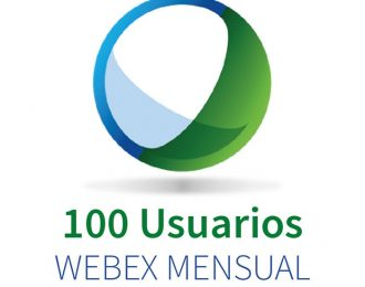 WEBEX 100 (100 Participantes + Audio PC) MENSUAL