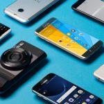 Ventas de smartphones hacia abajo en el mundo