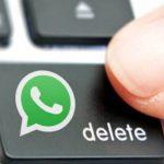 Nueva función de WhatsApp te dará una hora para eliminar mensajes