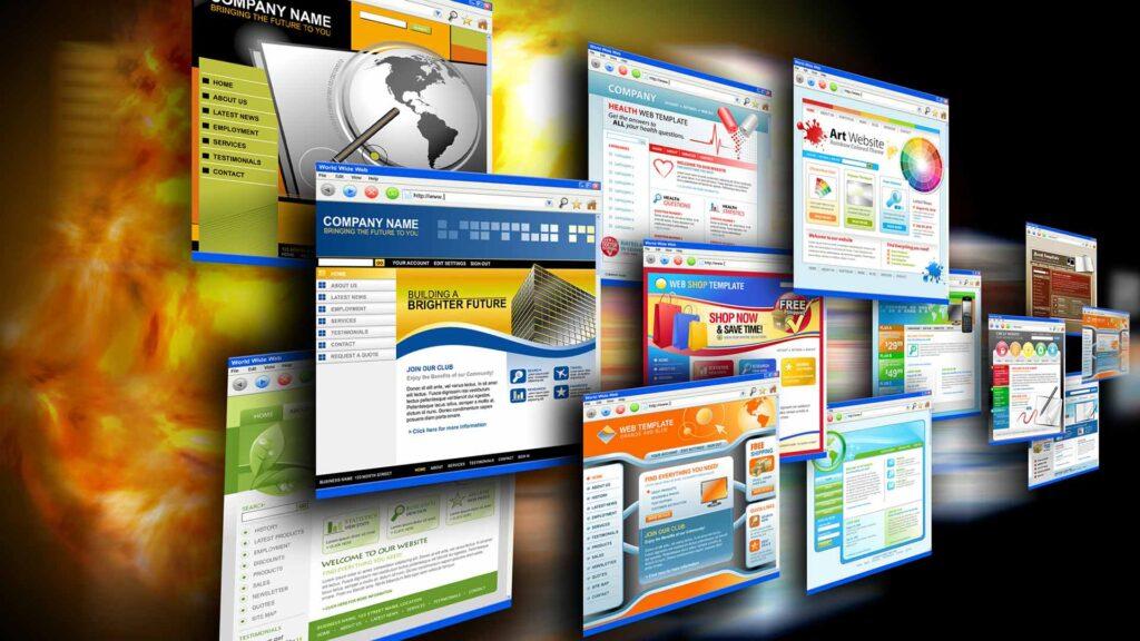 Tipos de paginas web de restaurantes