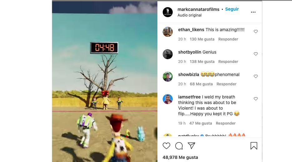 Animador recrea El Juego del Calamar con personajes de Toy Story y se gana a los usuarios
